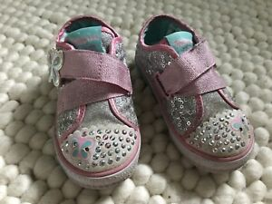 Twinkle Toes Skechers Toddler Shoes Size 7
