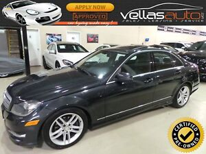 2012 Mercedes-Benz C-Class C250 4MATIC| SUNROOF| LEATHER