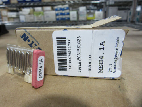 Eaton MSH4.1A Thermal Overload Heater Element New!!! in Box