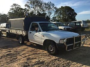 Wrecking 1997 Toyota Hilux ute Willawong Brisbane South West Preview