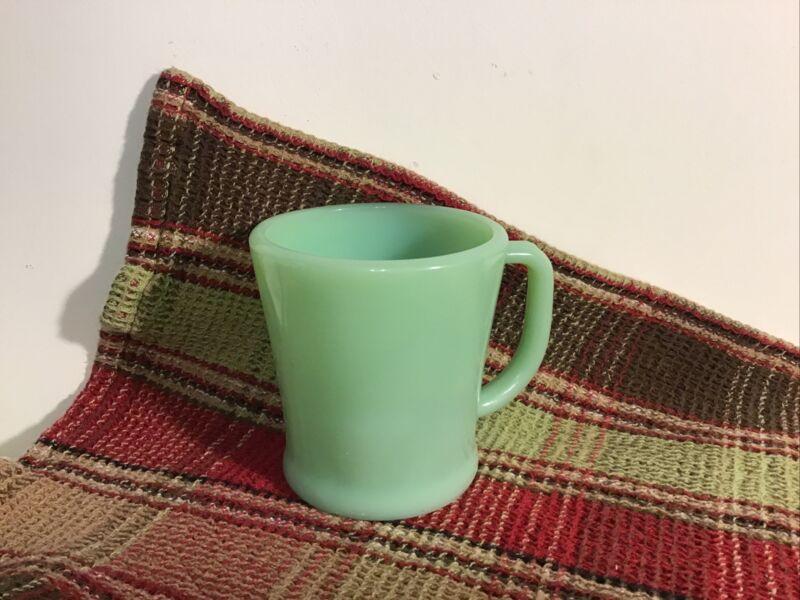 Vintage Fire King Jadite Cup Mug