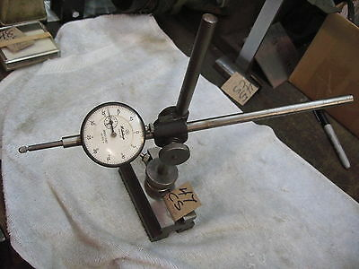 Mitutoyo Dial Gage No. 2776 On A Starrett Base .0005-1.000   Cs47