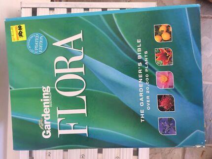 Gardening Australia FLORA  - double hard cover