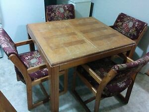 Table and four chairs..can deliver