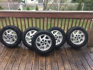 Nissan Maxima Mag wheels with Tires