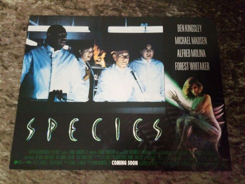 Species lobby cards - Ben Kingsley, Michael Madsen, Natasha Henstridge