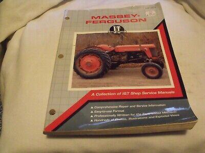 It Massey Ferguson Shop Manual Mf-201 Tractors