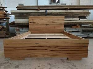 Recycled hardwood bed, made to order Brunswick Moreland Area Preview