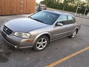 2001 Nissan Maxima GLE**clean title fresh safetied **