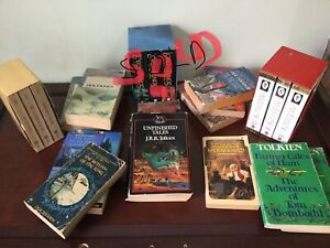 Lord of the Rings - J.R.R. Tolkien collections.
