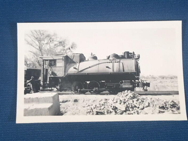 Locomotive 3 Antique Photo