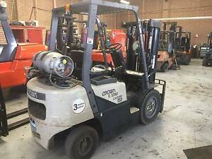 FORKLIFT Crown FL 2.5Tone - Finance or (*Rent-To-Own $73pw) Ferntree Gully Knox Area Preview