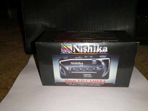 Nishika N9000 3D Camera 35mm. Never Been Opened. Lot 78 - $35.00