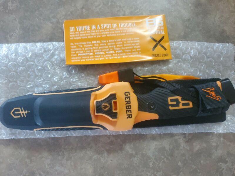 🔥 GERBER ULTIMATE PRO BEAR GRYLLS Fixed Blade Fine Edge Knife   31-001901 (NEW)