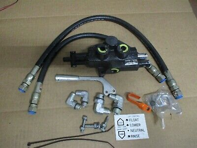 70060-00032 Kubota Hydraulic Lift Valve Kit Snowcaster B-648 B648 Snow Blower
