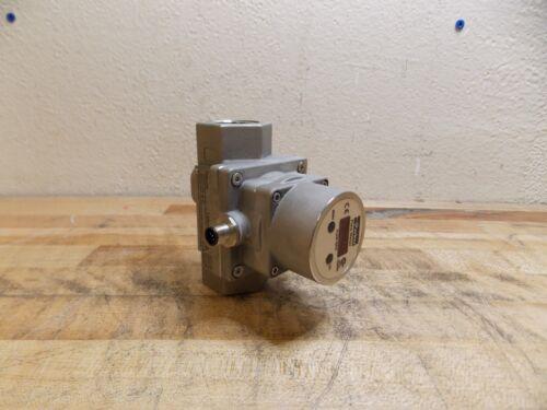 "Parker Vortex Shedding Flowmeter 1"" NPT Port 300 PSI Max. Model PF16SNP000"