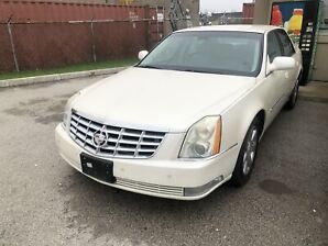 08 Cadillac DTS. Loaded. Very low km.  Pearl White.