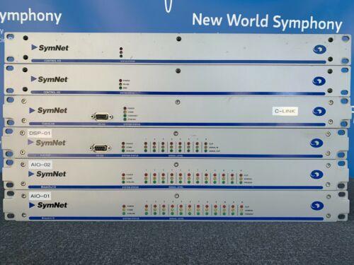 Symetrix SymNet bundle : Control I/O, CobraLink, 8x8 DSP, BreakIn12, BreakOut12