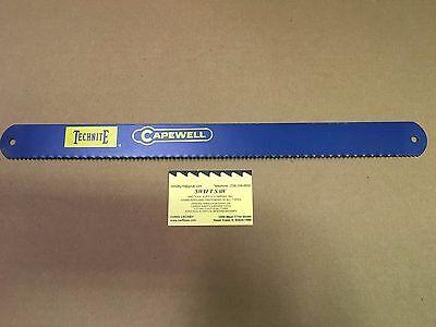10pcs- 17 X 1-12 X .072 X 6t Power Hack Saw Blade Capewell Technite Usa Hss