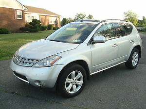 2007-Nissan-Murano-SL-AWD-Navigation-Backup-Camera-Bose