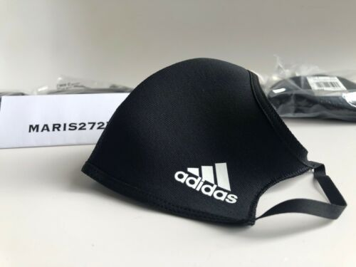 ***NEW (1) SINGLE ADIDAS M/L LARGE FACE MASK COVER BLACK H08837