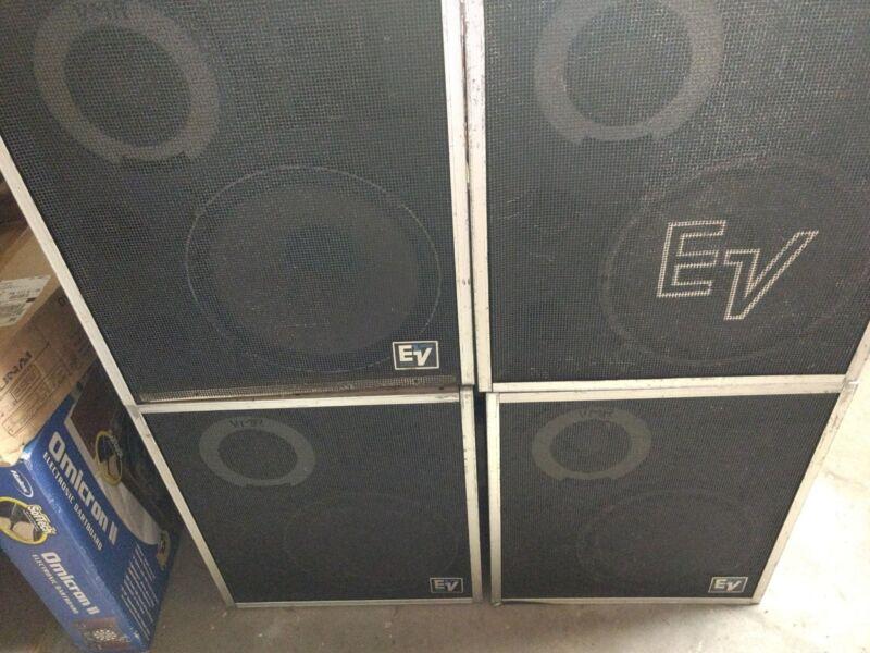 EV S 15-3 speakers