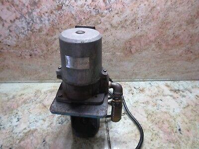 Fuji 3 Phase Electric Oil Coolant Pump Vkp071a-4z Miyano Jnc-60 Cnc Lathe
