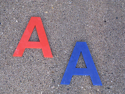 Plastic American Airlines Letters