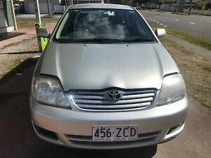 2004 TOYOTA COROLLA ASCENT AUTOMATIC WAGON SILVER STOCK #1931 Lota Brisbane South East Preview