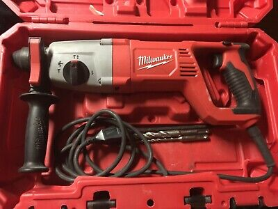 Milwaukee 5262-21 8 Amp 1 Sds Plus Rotary Hammer Drill - Really Nice W Case