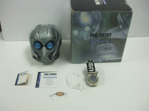 Final Fantasy Spirits Within FOSSIL Deepeyes ENV Time Watch LI-2042 Rare #0762