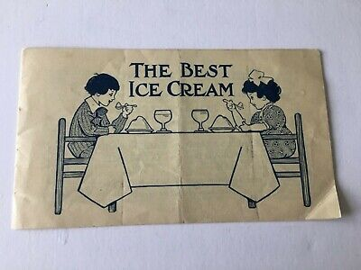THE BEST ICE CREAM Recipe Booklet Borden's Condensed Milk Co. Eagle Peerless