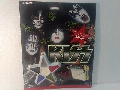 Kiss Makeup Halloween (Paper Magic Group Halloween Technifaces KISS Makeup Kit 1997 )
