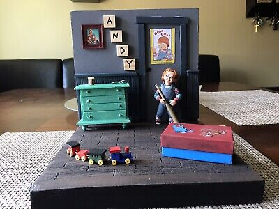 Action Figure Chucky Andys Room Diorama