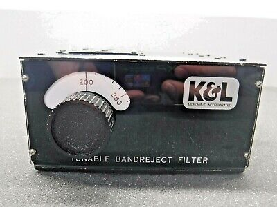 Kl Tunable Bandreject Filter 3tnf-200400-n