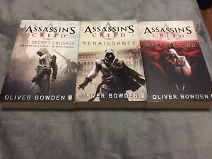 Assassins's Creed 1, 2 and Brotherhood novels