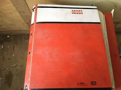 2 Case 1896 2096 Tractor Factory Parts Catalogs In Binder Oem