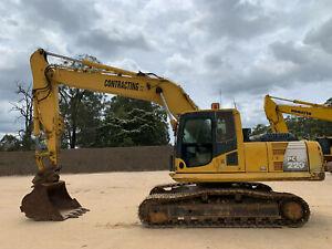 Komatsu PC220-8  Tracked-Excav Londonderry Penrith Area Preview