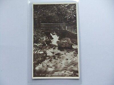 DUNOON Morag's Fairy Glen, RP postcard by ETW Dennis, Scotland