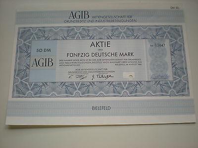 Deutschland - AGIB Ag für Grundbesitz u. Industriebeiligung  1/278