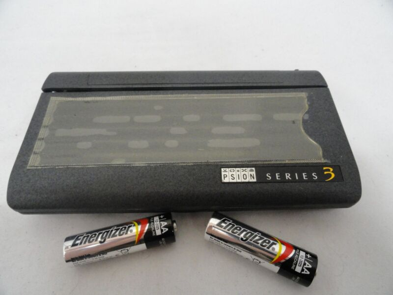 Vintage PSION Series 3 Handheld Palmtop Computer