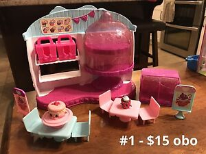 Assorted Shopkins Playsets for Sale or Trade!