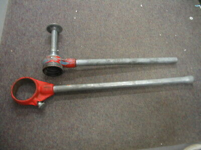 Ridgid Ratching Handles - 254 Spiral Pipe Reamer Handle And 3.5 Pipe Die Handle