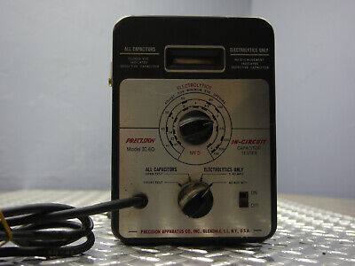 Vintage Precision Apparatus Co. Ic-60 Capacitor Tester
