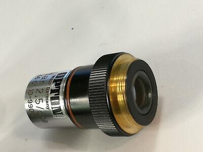 Zeiss Mikroskop Objektiv Plan 2.5x008 460110-9906