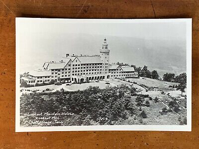 Tennessee, TN, Chattanooga, Cline Real Photo, Lookout Mountain Hotel, ca 1950