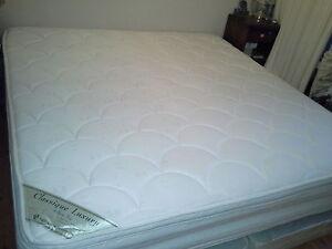 King pillowtop matress