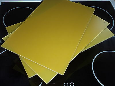 "3mm 16"" X 12"" Fibreglass GRP sheet for boat, Quadcopter Drone, quality UK stock"