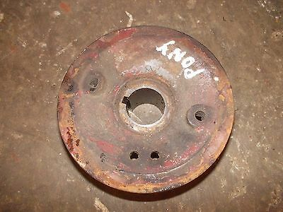 Massey Harris Pony Tractor Mh Engine Motor Crankshaft Crank Front Pulley