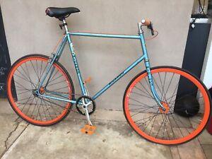 Single speed, fixie, bike, commuter, vintage frame